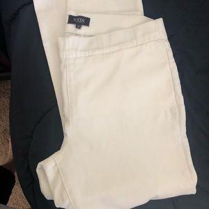NYDJ white jeans